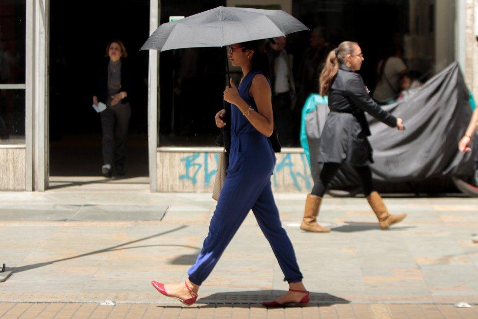 Las sombrillas pueden ser muy útiles en días de mucho calor