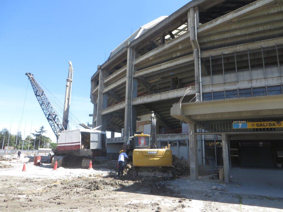 El Distrito tiene proyectado la entrega de la renovación del escenario deportivo para el 2019.
