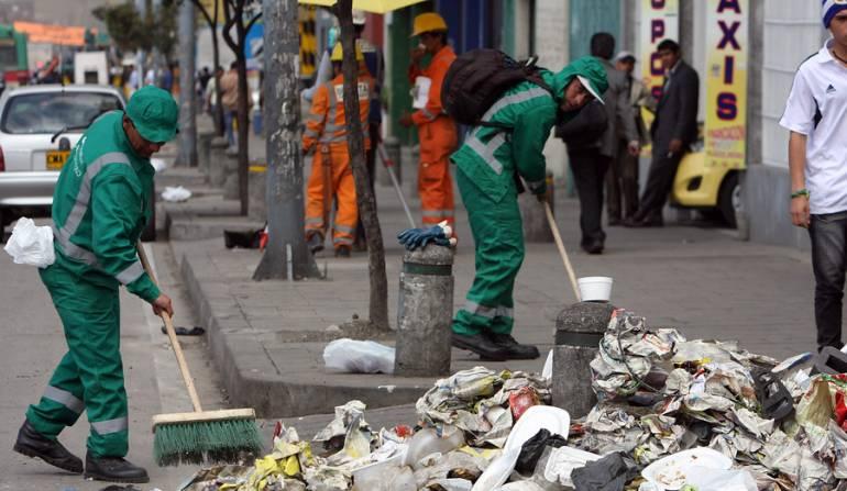 Servicio de aseo en Bogotá: Esta semana se definiría el futuro del servicio de aseo en Bogotá