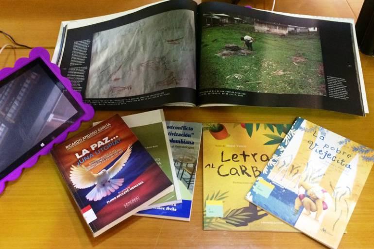 La biblioteca del Centro de Formación de Cartagena de Indias recibe donación de libros: La biblioteca del Centro de Formación de Cartagena de Indias recibe donación de libros
