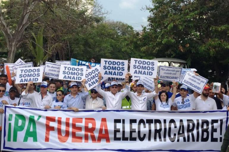 Realizaran 'Caravana por la liquidación de Electricaribe': Realizaran 'Caravana por la liquidación de Electricaribe'