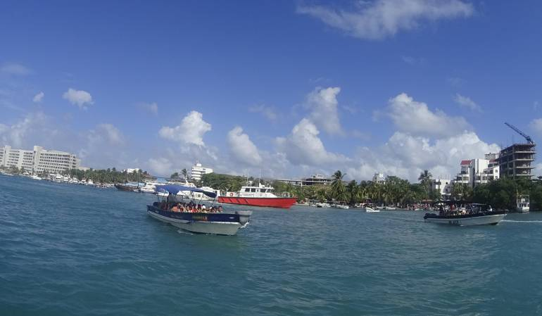 San Andrés: Refuerzan controles de seguridad a embarcaciones de transporte turístico en San Andrés