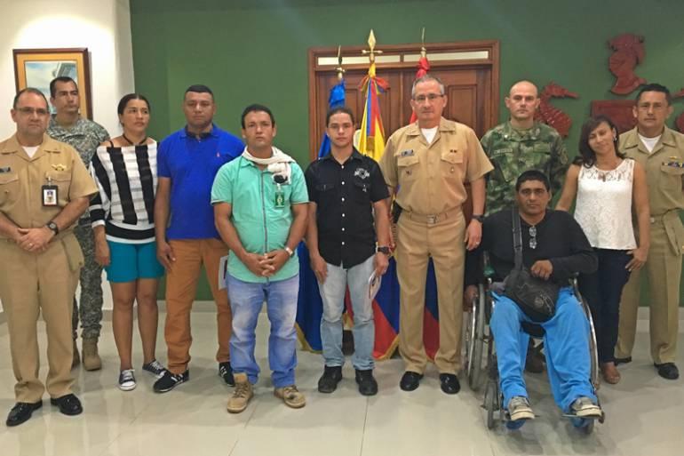 Héroes de la Patria reciben subsidios de vivienda en Cartagena: Héroes de la Patria reciben subsidios de vivienda en Cartagena