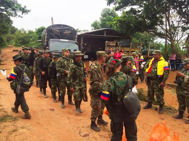 Ejército ocupa antiguas áreas de injerencia de las Farc en el sur del país