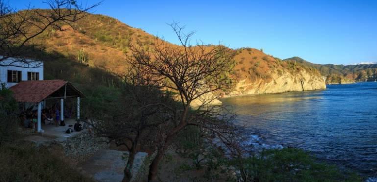 Esta es Playa Rosita, la zona donde ocurrió el atraco armado. FOTOGRAFÍA GOOGLE MAPS