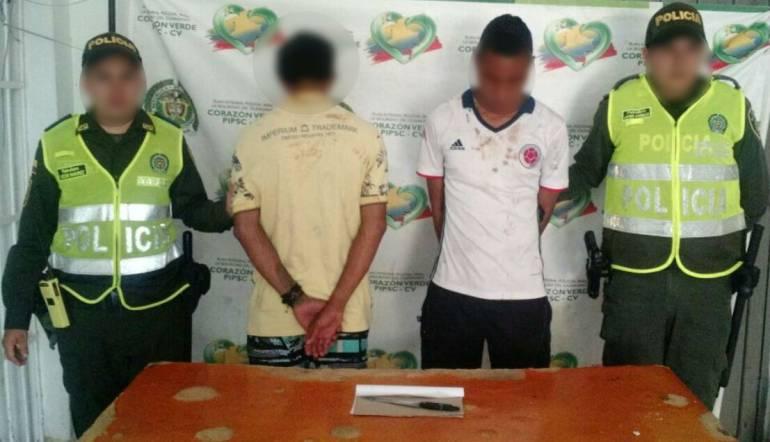 Una joven de 17 años y su compañero arrestados en Cartagena por hurto