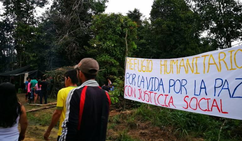 Refugio Humanitario en el Catatumbo.
