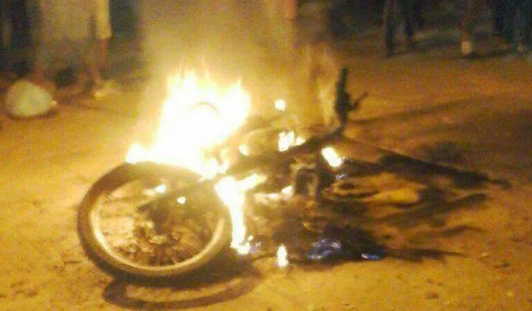 Atentado en Cesar: Dos policías heridos deja atentado terrorista atribuido al Eln en Pailitas, Cesar