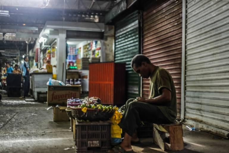 Minoristas dicen no estar enterados de fechas del traslado del mercado de Cartagena: Minoristas dicen no estar enterados de fechas del traslado del mercado de Cartagena