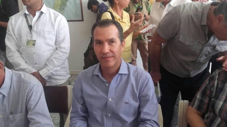 Director nacional del ICA, Luis Humberto Martinez.