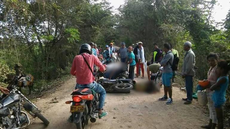 Accidente de tránsito en Bolívar: Un muerto y dos heridos en accidente en Hatillo de Loba, sur de Bolívar
