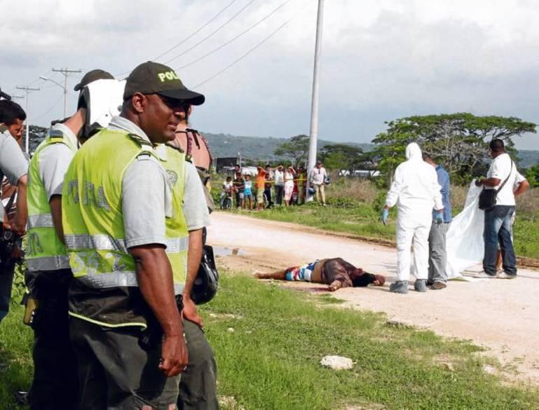 Homicidios en Cartagena: Van 21 homicidios en 2017 en Cartagena