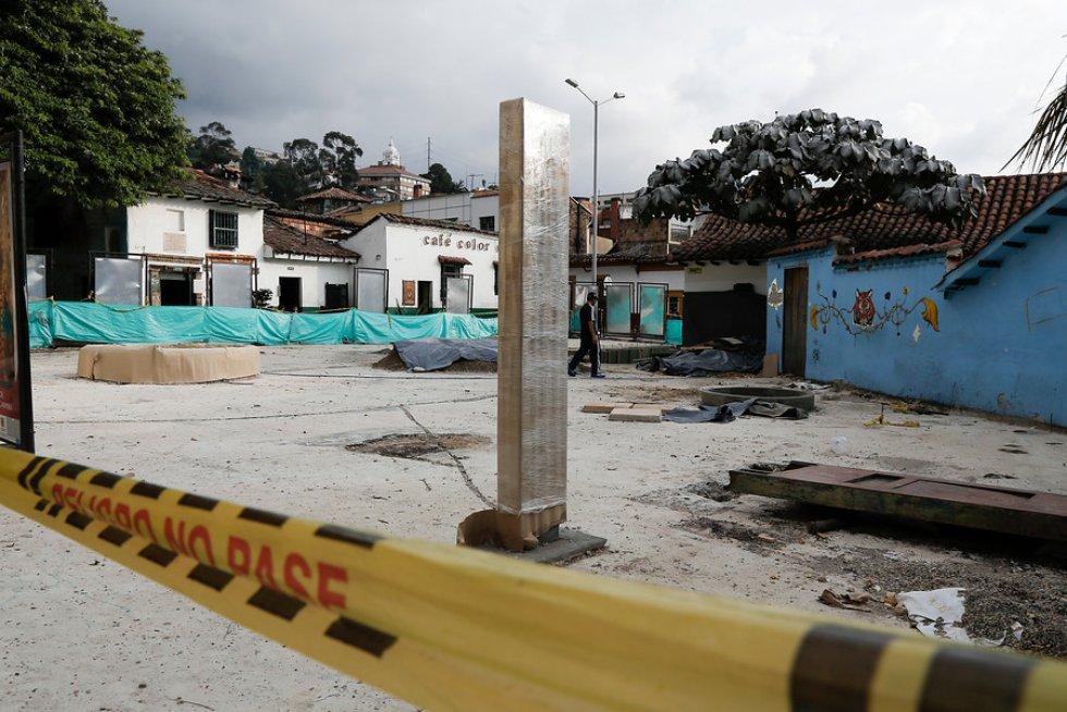 Se encuentra ubicada en el centro histórico de Bogotá.