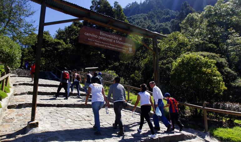 Sendero peatonal de Monserrate: Este sábado reabren sendero peatonal de Monserrate
