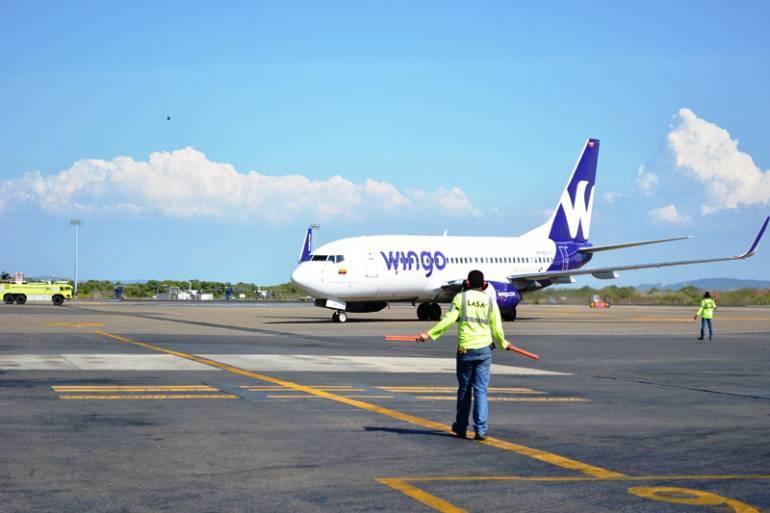 Aerolínea Wingo inauguró su nueva ruta Cartagena - Panamá: Aerolínea Wingo inauguró su nueva ruta Cartagena - Panamá
