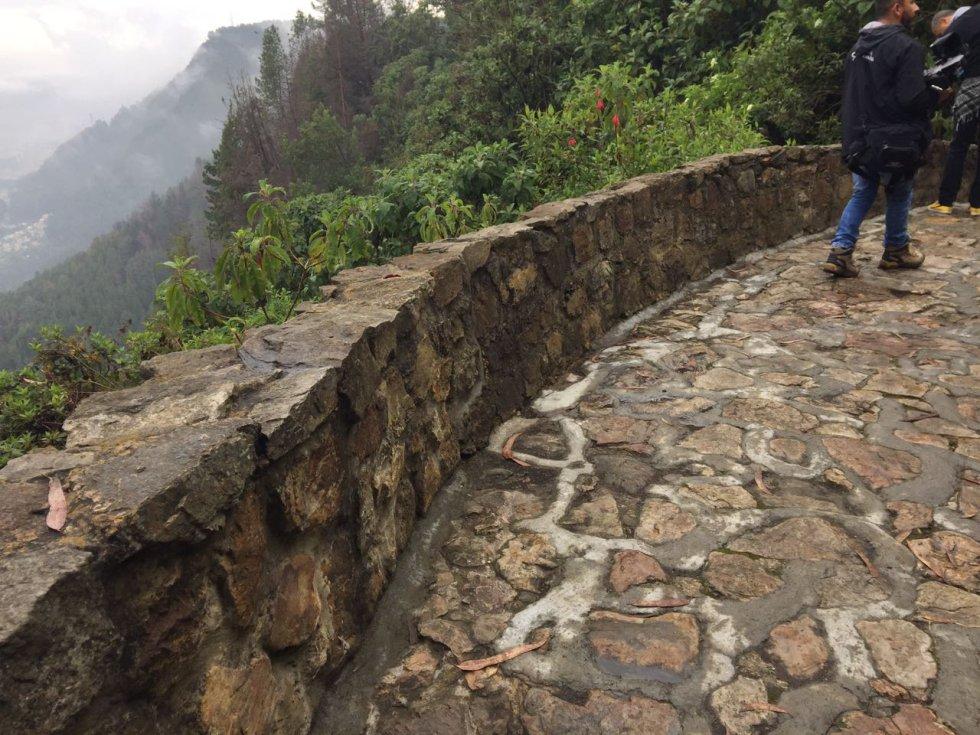 Las obras de llevaron a cabo desde enero del 2016 tras incendios forestales que afectaron el sendero