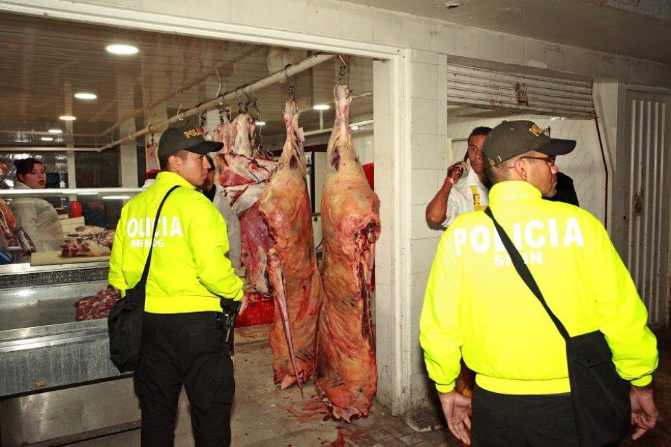 Fotos del operativo del Distrito contra los establecimientos de carne de Guadalupe señalados de malas prácticas higiénicas: [Fotos] ¿Por qué no comprar carne en el sector de Guadalupe?