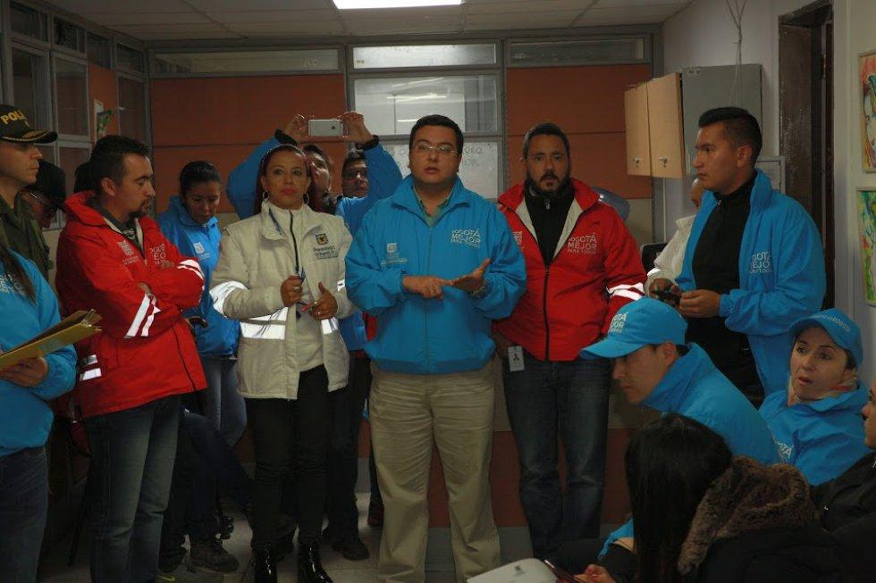 Autoridades sanitarias adelantaron un operativo que terminó con el sellamiento de 7 expendios de carne en el sector de Guadalupe.