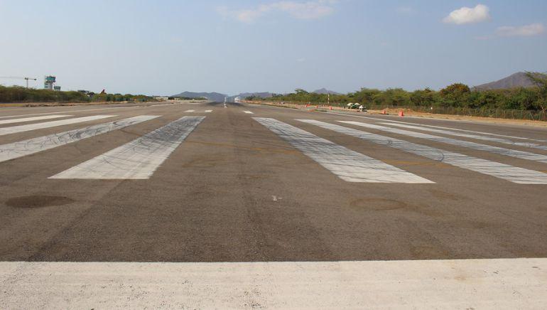 Cerrado el aeropuerto de Santa Marta por daño en las luces de la pista