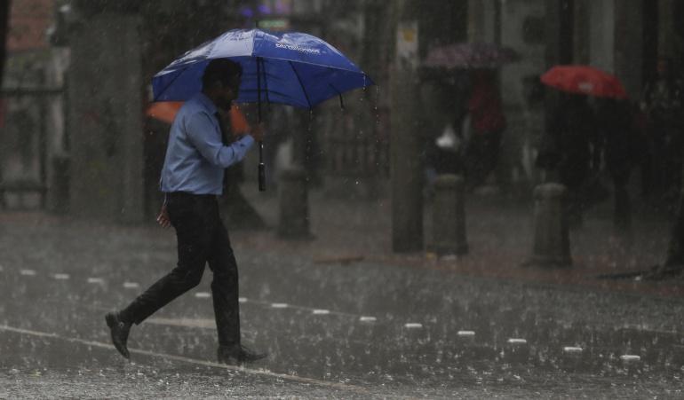 La temporada de lluvias no para en centro del país y Bogotá no es la excepción.