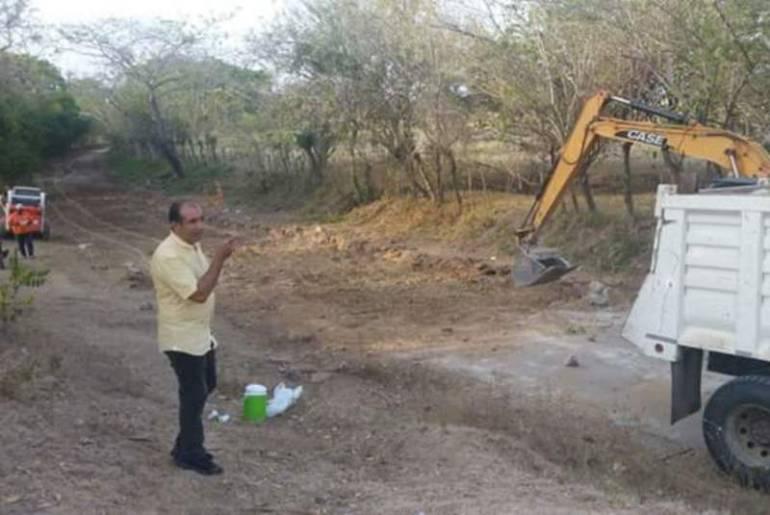Alcalde de Magangué inspeccionó obra vial Chaparral - Cascajal Tramo 2: Alcalde de Magangué inspeccionó obra vial Chaparral - Cascajal Tramo 2