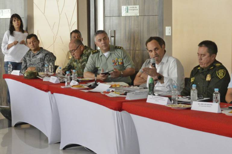 Comité de Seguimiento Electoral en la gobernación del Atlántico.