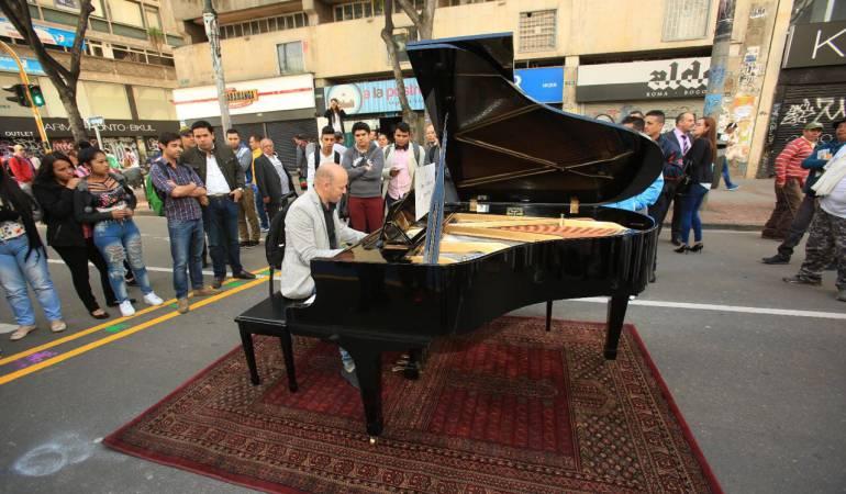 piano Carrera 7: Un piano en plena Carrera 7