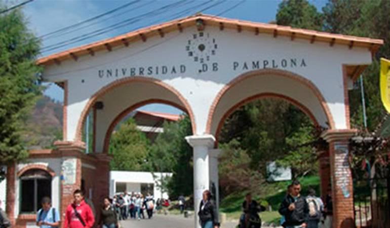 Sede principal, Universidad de Pamplona, Norte de Santander.