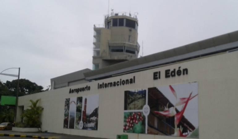 Aeropuertos de Colombia: Obras del aeropuerto el Edén de Armenia se harán este año: Vargas Lleras