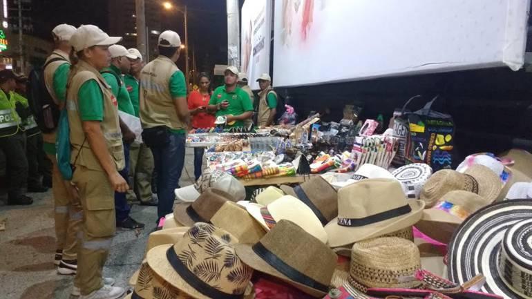 Espacio público en Cartagena: Recuperan espacio público invadido en zona turística de Cartagena