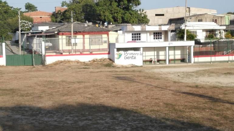 Histórico estadio de béisbol de Blas de Lezo, en Cartagena, en deplorables condiciones