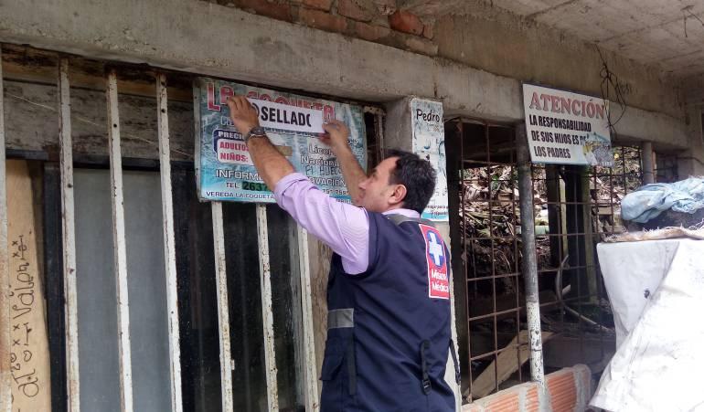 Operativos de control a piscinas en Ibagué/ Cortesía Secretaría de Salud Municipal