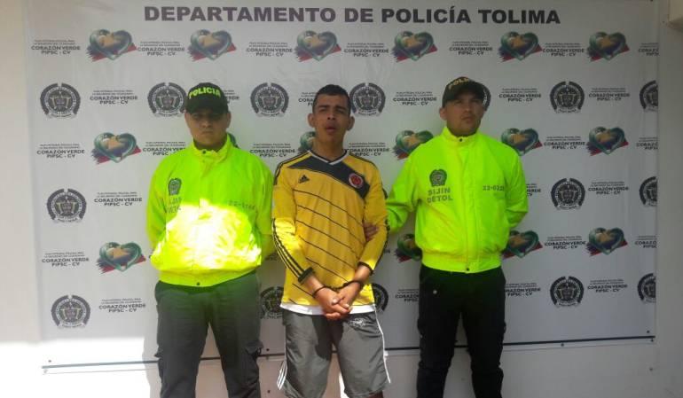 Víctor Alfonso Lezama recapturado en Chaparral, Tolima