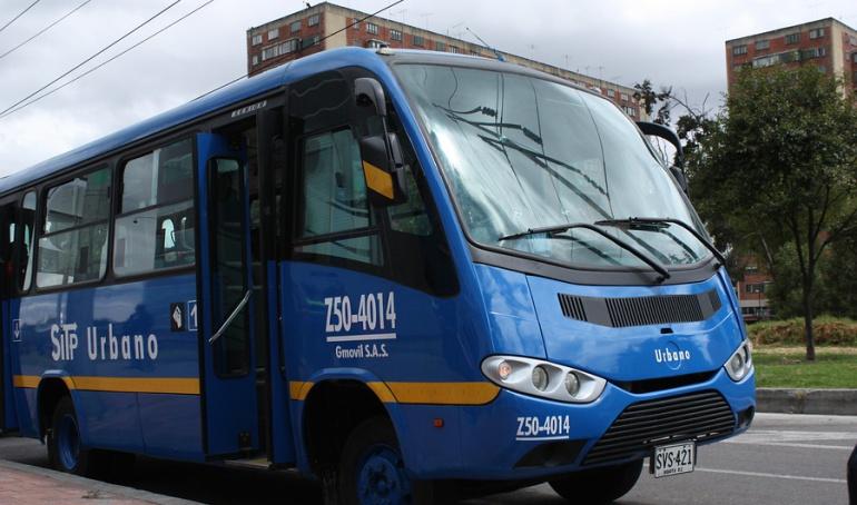 Bus del SITP