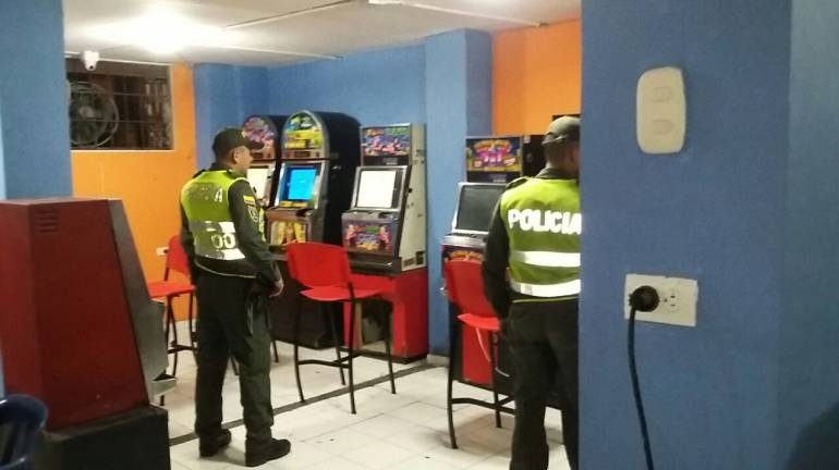 Coljuegos decomisó 87 máquinas tragamonedas ilegales en Cartagena: Coljuegos decomisó 87 máquinas tragamonedas ilegales en Cartagena