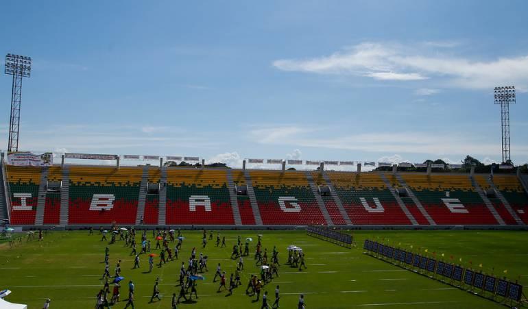 Escenario deportivo de los Juegos Nacionales 2015