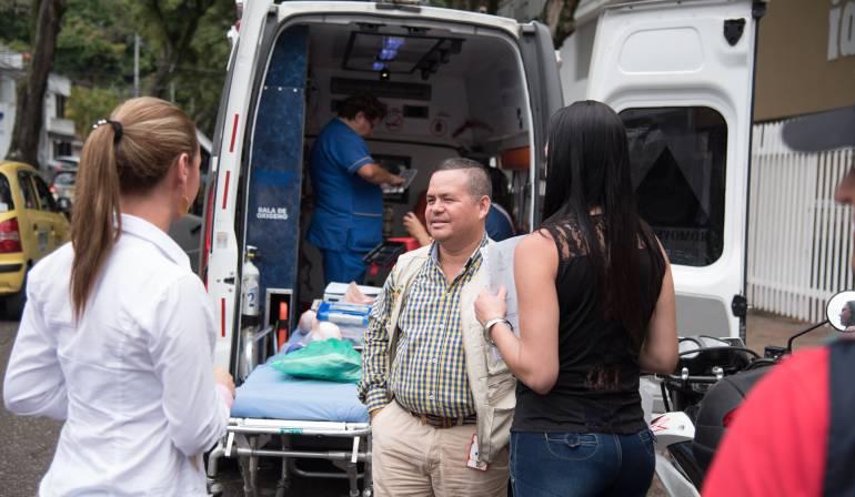 Operativos al servicio de ambulancias de Ibagué