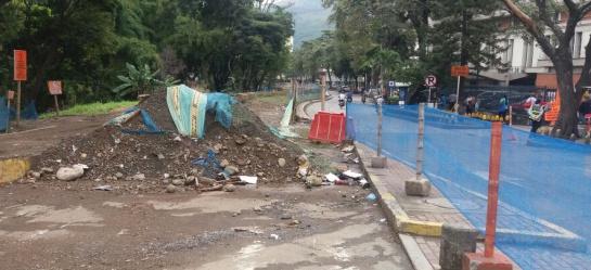 Obras demoradas en el Parque Lineal Río Cali