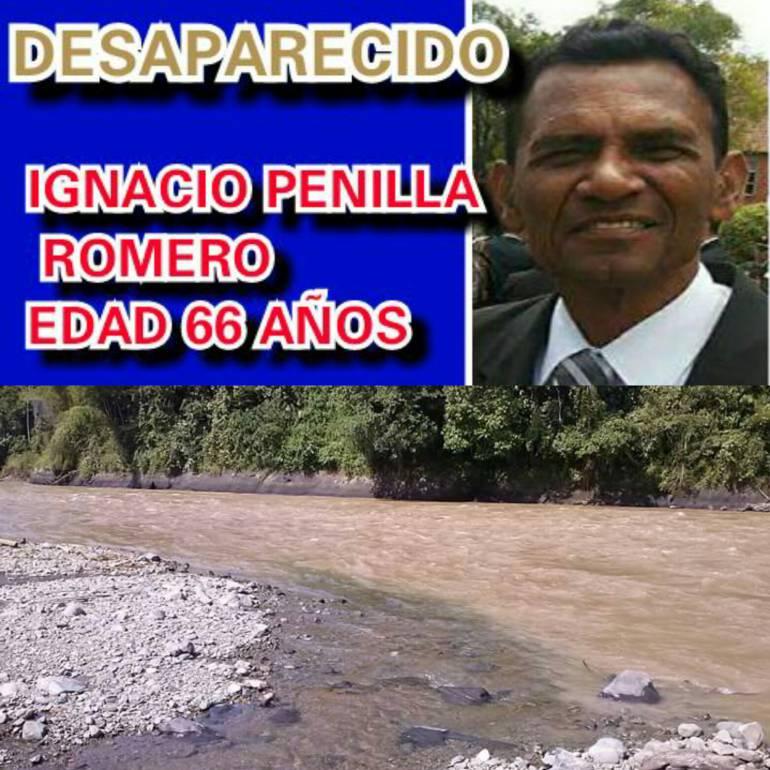 En aguas del Río Cauca apareció muerto Ignacio Penilla, hermano mayor del general Penilla, comandante de la Policía Metropolitana de Bogotá.