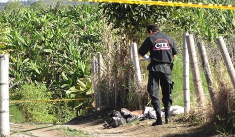 Desmembrada: Hallan cuerpo de mujer desmembrada en el oriente de Cali