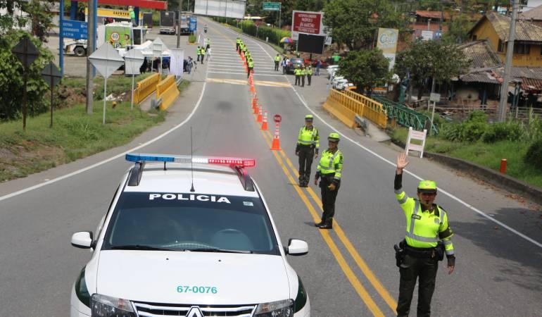"""Manizales; accidentes; Tres Puertas; Pacífico Tres; Caldas: """"Tu Vida Vale Más, Ni Uno Más"""" la campaña que busca disminuir los accidentes en la vía Manizales-Medellín"""
