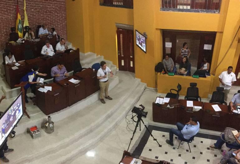 Protección costera de Cartagena: Proyecto de protección costera, la próxima semana al Concejo de Cartagena