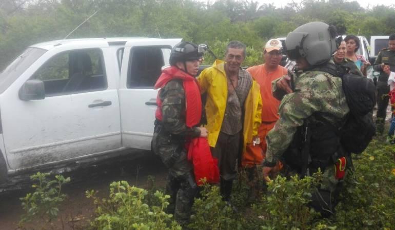 Pescador rescatado en el sur del Tolima