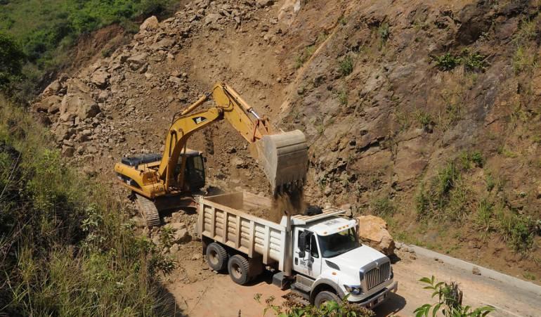 Vía entre Risaralda y Chocó está en alerta ante posibles deslizamientos