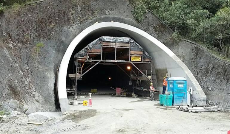 Túnel de La Línea: Veeduría a obras del túnel de La Línea pide que el proyecto lo terminen tres firmas