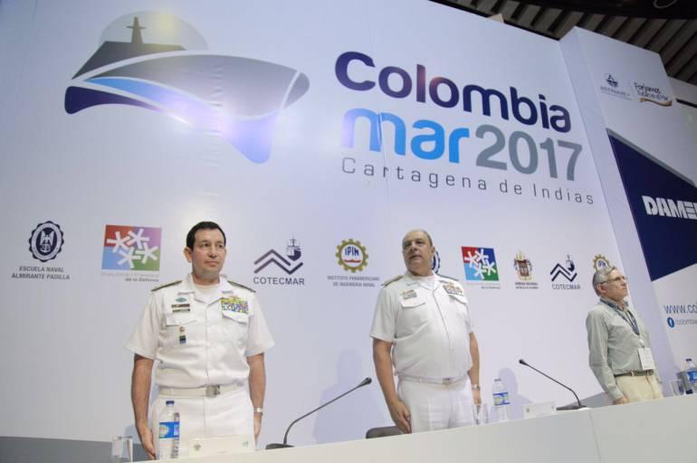 Negocios potenciales por 105 millones de dólares en Colombiamar 2017: Negocios potenciales por 105 millones de dólares en Colombiamar 2017
