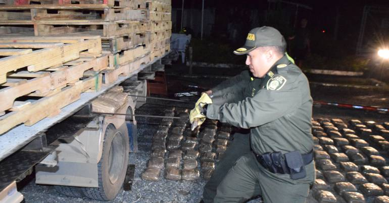 Las autoridades incautaron más de 4 mil dosis de marihuana