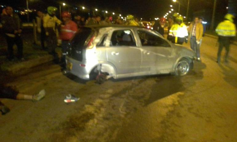 accidente viaducto tunja: Menor de edad muere en accidente de tránsito en Tunja