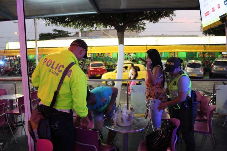 La Policía del Atlántico aseguró que no se presentaron muertos durante las fiestas del puente de San José.