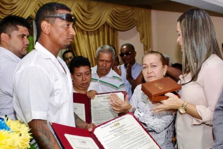El Senado de la República rindió homenaje a Rocky Valdez: El Senado de la República rindió homenaje a Rocky Valdez